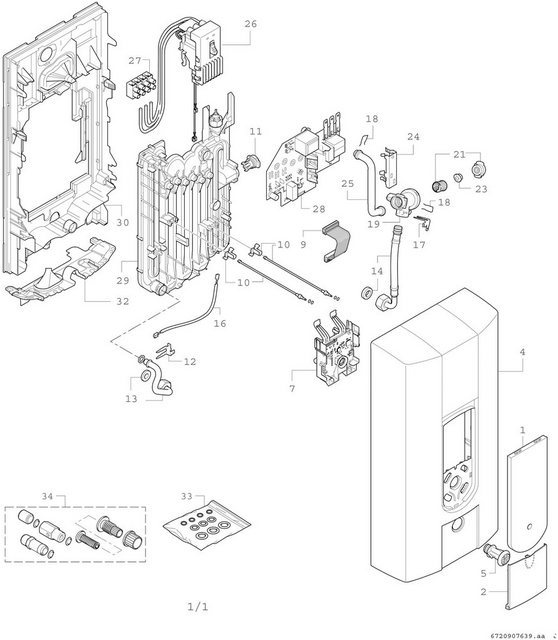 BOSCH Durchlauferhitzer »TR4000 24EB«  elektronisch   Baumarkt > Heizung und Klima > Durchlauferhitzer   Bosch