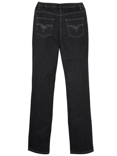 Hosen - Classic Basics 5 Pocket Jeans › schwarz  - Onlineshop OTTO
