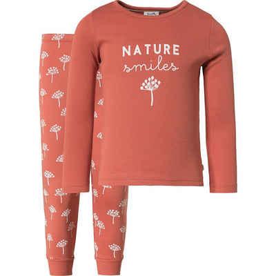 Sanetta PURE Schlafanzug »Schlafanzug für Mädchen, Organic Cotton«