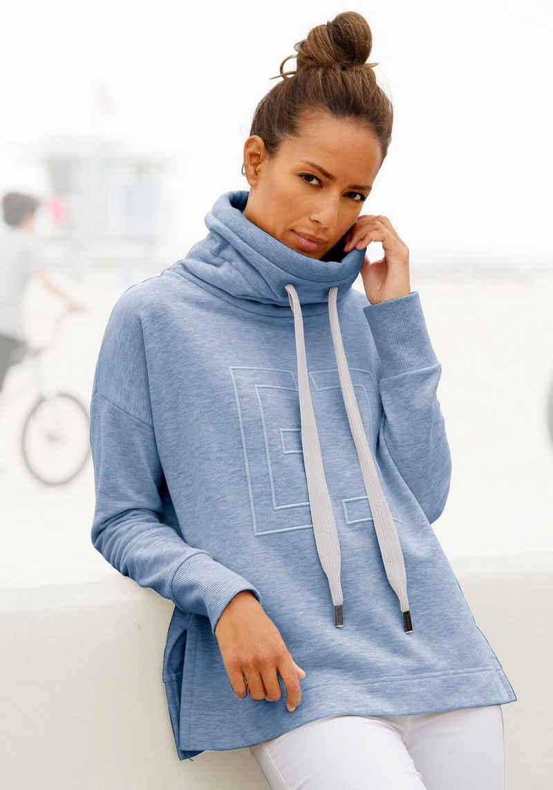 Elbsand Sweatshirt »Birte« mit Logostickerei