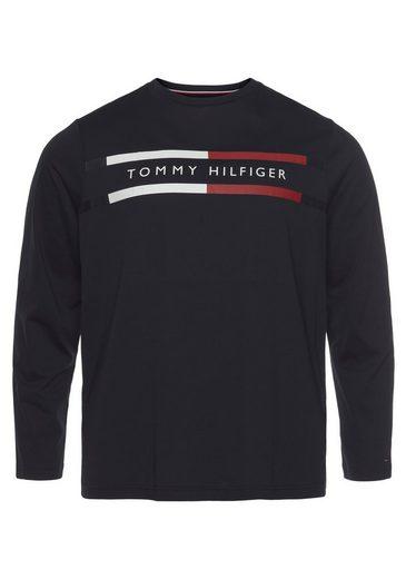 Tommy Hilfiger Big & Tall Langarmshirt »BT-CORP CHEST STRIPE LS TEE«