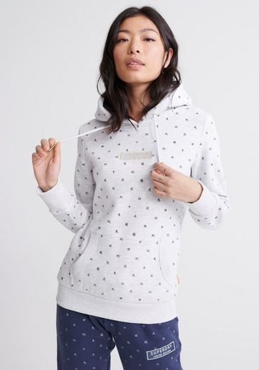 Superdry Kapuzensweatshirt »CNY ZODIAC AOP ENTRY HOOD« British Design Limited Edition
