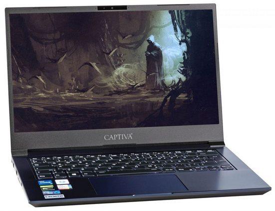 CAPTIVA Advanced Gaming I63-300 Gaming-Notebook (35,6 cm (14.0) Narrow Border cm/14 Zoll, Intel Core i5, GeForce GTX 1650, 500 GB SSD)