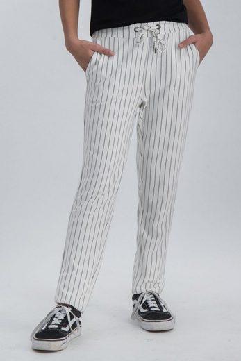 Garcia Stoffhose mit elastischem Bund