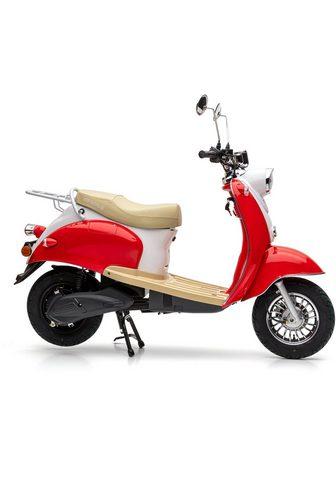 Nova Motors E-Motorroller »eRetro Star cherry red«...