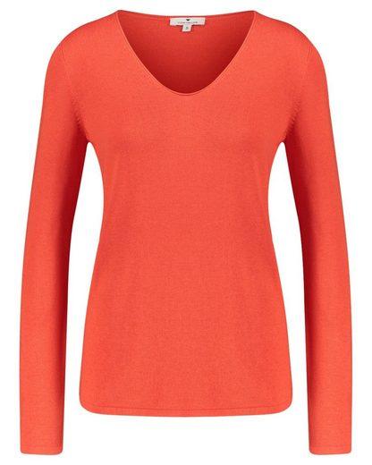 TOM TAILOR Strickpullover »Damen Pullover«