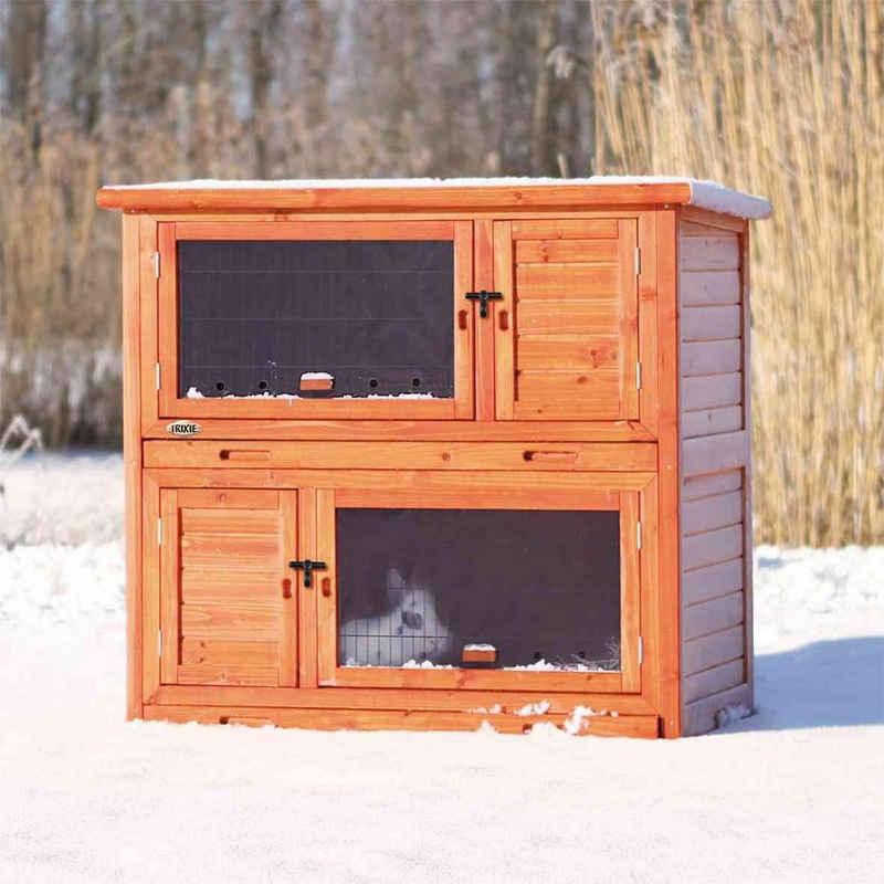 TRIXIE Kleintierstall »Kaninchenstall winterfest Wärmedämmung isoliert«