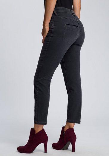 MAC Ankle-Jeans »Dream Pocket« Zierriegel