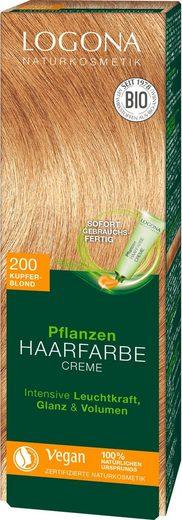 LOGONA Haarfarbe »Logona Pflanzen-Haarfarbe Creme«