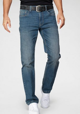 John Devin Straight-Jeans su Stretch