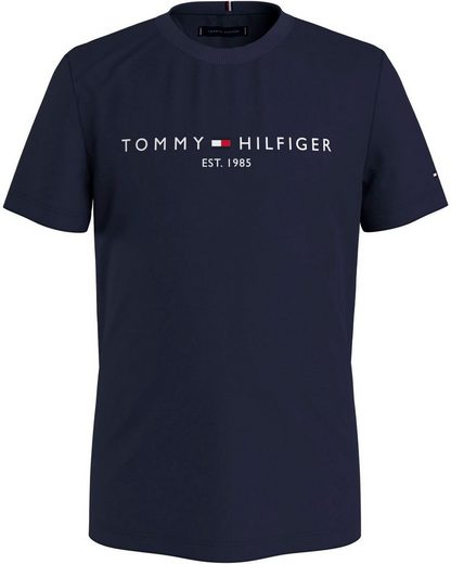 TOMMY HILFIGER T-Shirt »ESSENTIAL LOGO TEE S/S«