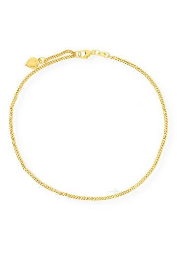 JuwelmaLux Fußkette »Fußkette 333/000 (8 Karat) Gold Herz«