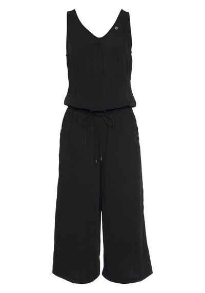 Ragwear Jumpsuit »SUKY« mit Wickelausschnitt am Rücken