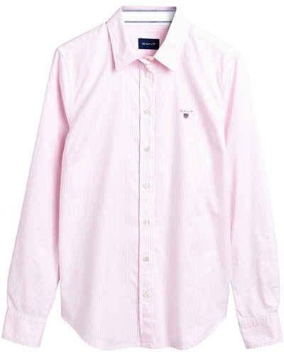 Gant Hemdbluse »Stretch Banker Oxford-Bluse«