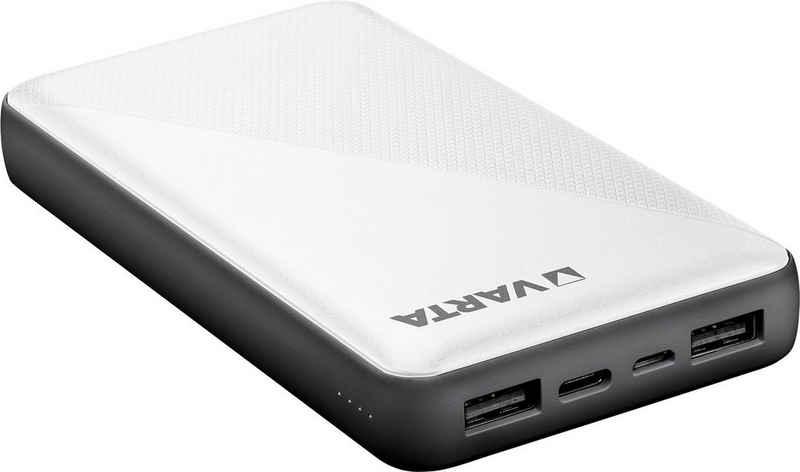 VARTA »Power Bank Energy 15000 + Ladekabel 15000mAh Powerbank mit USB Type C« Powerbank 15000 mAh (3,7 V, 1 St)