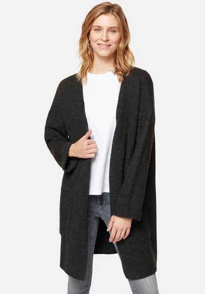 Mavi Cardigan »STRIPE CARDIGAN« mit großen aufgesetzten Taschen
