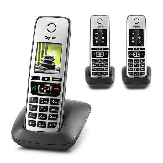 Gigaset »Gigaset FAMILY TRIO Universal Mobilteil« Schnurloses DECT-Telefon