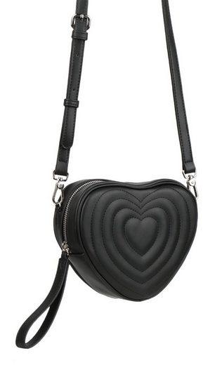 Seidenfelt Mini Bag »SON«, in Herz Form