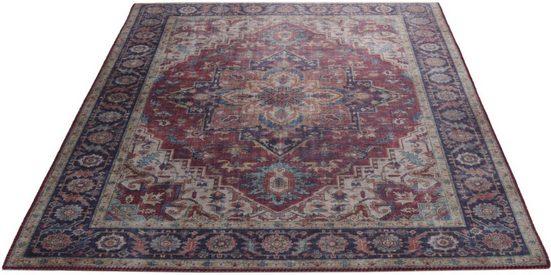 Teppich »Fenix Ornament«, Living Line, rechteckig, Höhe 5 mm, Orient-Optik, Wohnzimmer