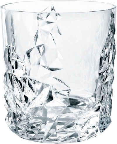 Nachtmann Whiskyglas »Sculpture«, Kristallglas, 365 ml, 6-teilig