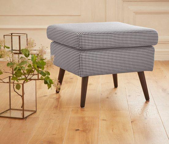 Guido Maria Kretschmer Home&Living Hocker »Salla«, Bezug auch in Luxus-Microfaser in Teddyfelloptik