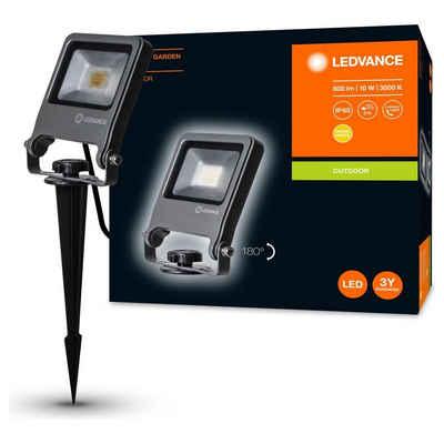 Ledvance LED Aufbaustrahler »LED Strahler Endura 10W 800lm IP65«, Außenstrahler