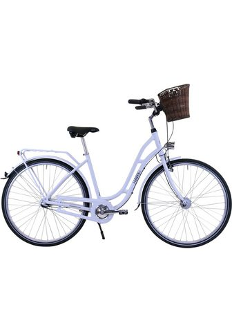 HAWK Bikes Dviratis »HAWK City Classic Joy White«...