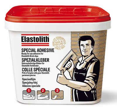 ELASTOLITH Klebstoff, Spezialkleber für Verblender, 15 kg, zementgrau