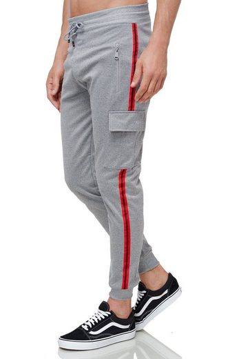 Max Men Jogginghose »3507« Herren Cargo Jogginghose mit Gummibund Jogger Sweat Pants