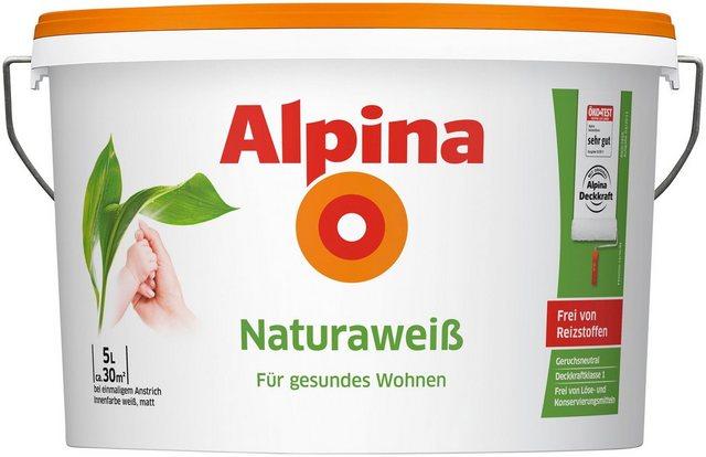 Alpina Innenfarbe Natura Weiss, weiß