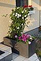 ONDIS24 Pflanzkübel »Pflanzkübel Blumenkübel Blumentopf Vulkan 100cm Schiefer Optik mit Wasserspeicher Pflanzenkasten hoch winterfest«, 100 x 40 x 43,5 (H) cm, Bild 10