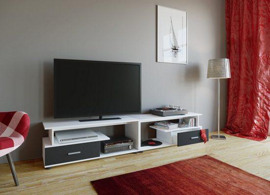 "VCM TV-Board »TV Lowboard mit Schubladen ""Rimini Maxi""«"