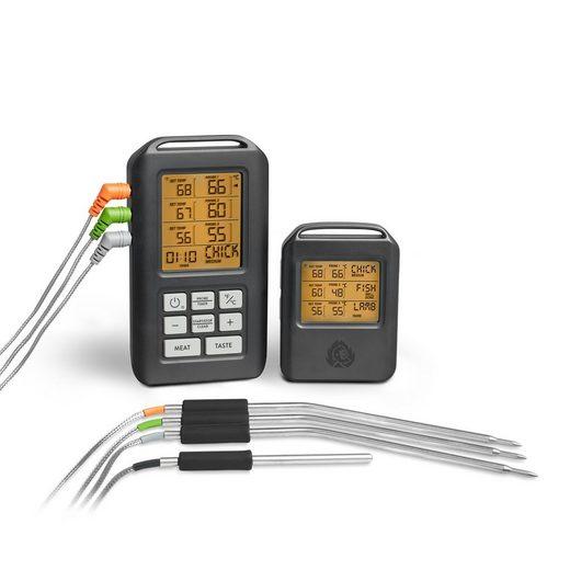 BURNHARD Gasgrill »Funk Grillthermometer, Digital Braten-Thermometer«