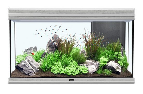 AQUATLANTIS Set: Aquarium »Fusion 100 LED 2.0«, 188 Liter, BxTxH: 102x40x60 cm, in versch. Farben