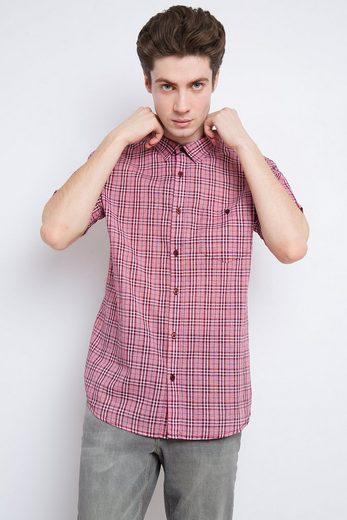 Finn Flare Hemd mit modischem Karo-Muster