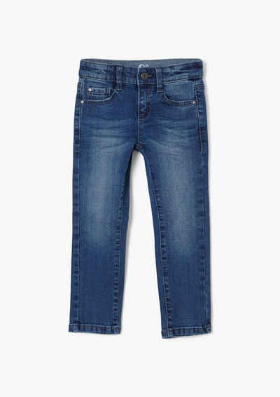 s.Oliver 5-Pocket-Jeans »Slim: Stretchjeans mit Waschung« Waschung
