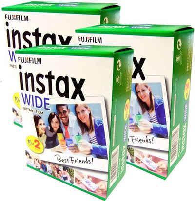 1A PHOTO PORST »3x Fuji Instax Wide Film Doppelpack für« Sofortbildkamera