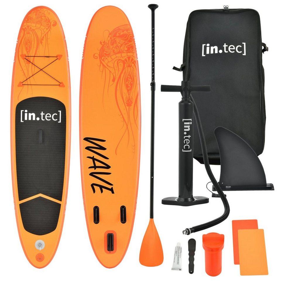 in.tec SUP-Board, Stand Up Paddle Board Aufblasbar 305 cm SUP Paddelboard bis 85kg