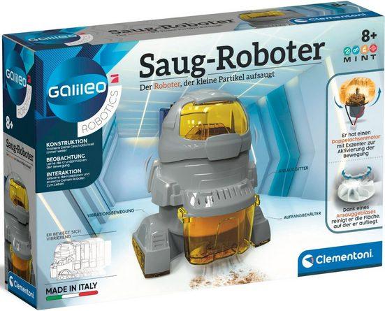 Clementoni® Experimentierkasten »Galileo Saug-Roboter«, Made in Europe