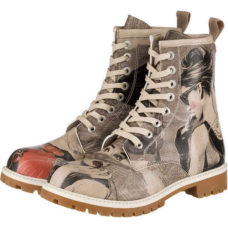 Dogo Shoes »Dogo Boots - Go Back To Being Yourself« Schnürstiefelette