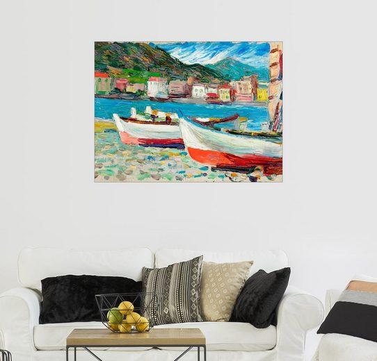 Posterlounge Wandbild, Rapallo, Boote
