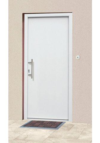 KM Zaun Haustür »A01« BxH: 108x208 cm weiß in ...