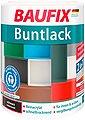 BAUFIX Acryl Buntlack seidenmatt schwarz, 1 l, Bild 1