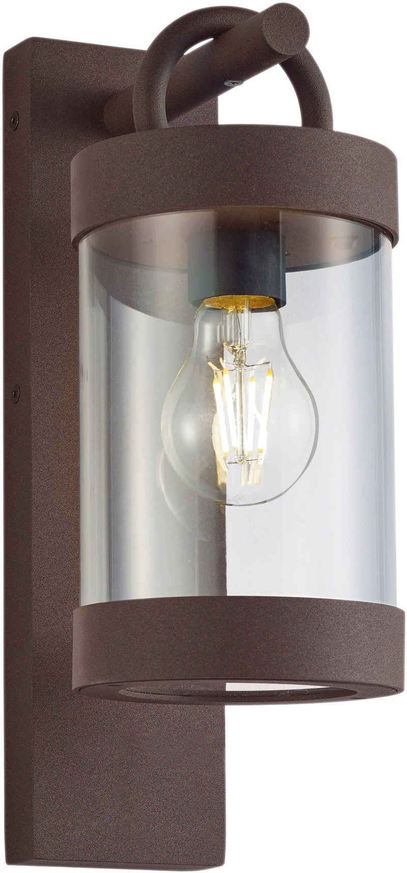 TRIO Leuchten Außen-Wandleuchte »Sambesi«, Dämmerungssensor, Leuchtmittel tauschbar