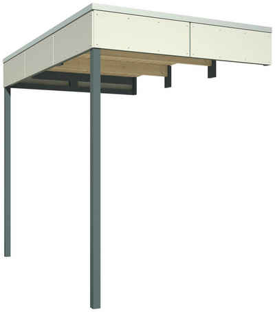 Skanholz Schleppdach, BxT: 168x253 cm, für Cross Cube 3+4
