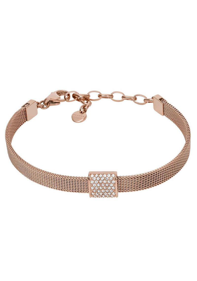 Skagen Armband »ELIN, SKJ1404791«, Mit Zirkonia und Glassteinen