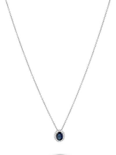 CHRIST Collier »CHRIST Damen-Kette 585er Weißgold 16 Diamant«