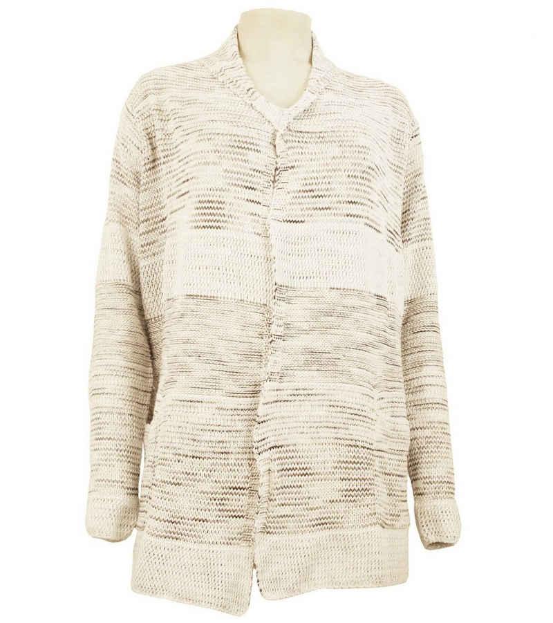 soyaconcept Outdoorjacke »soyaconcept Cardigan stylische Damen Strick-Jacke mit Schalkragen Outdoor-Jacke Altrosa«