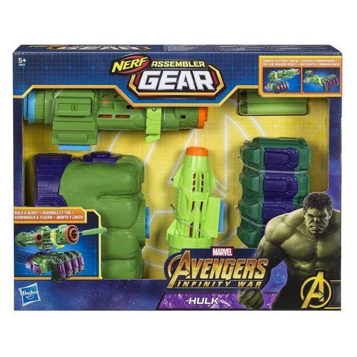 Hasbro Blaster »Hasbro E0612EU4 - Nerf - Marvel - Avengers Infinity War - Assembler Gear, Hulk Spielzeugblaster«
