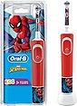 Oral B Elektrische Kinderzahnbürste Kids Spiderman, Aufsteckbürsten: 1 St., Bild 1